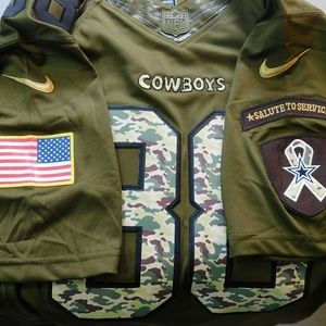 size 40 65777 7bed4 Dallas Cowboys Dez Bryant Salute to Service Jersey